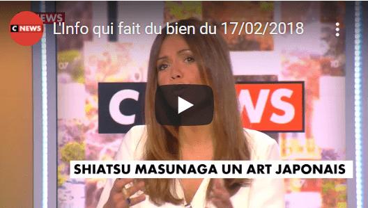 Read more about the article Le Shiatsu Masunaga en Direct sur la chaîne CNEWS